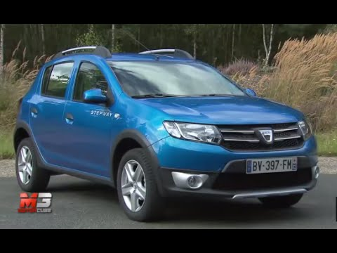 dacia sandero e sandero stepway 2013 test drive youtube. Black Bedroom Furniture Sets. Home Design Ideas