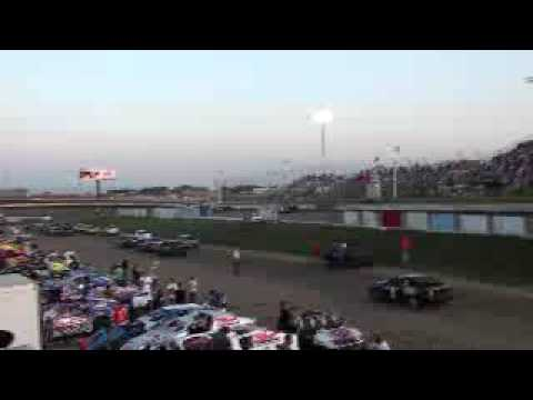 I-80 Speedway Late Model Wreck