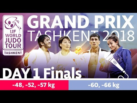 Judo Grand-Prix Tashkent 2018: Day 1 - Final Block