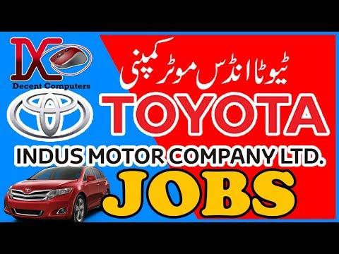 Toyota Indus Motor Company Apprenticeship