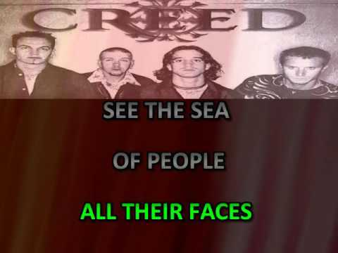 PITY FOR A DIME CREED KARAOKE