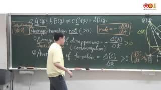 Lec14 化學(二)-103學年度 14-1 反應速率與反應定律式 (1/2)