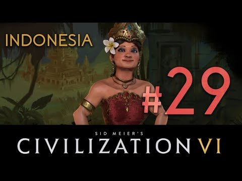 Indonesia - Civilization 6 - DLC// Let's Play - Episode #29 [Egyptian Tombs]