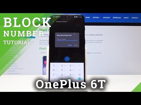 How to Block Number in OnePlus 6T – Block Contact