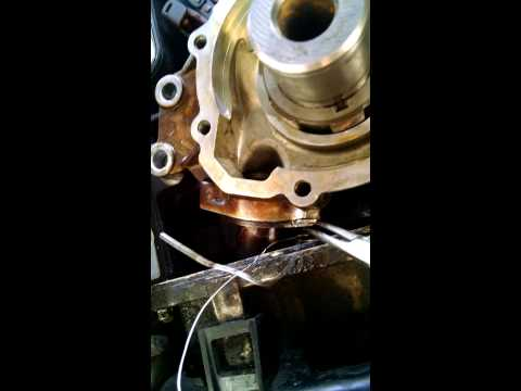 08 5.3 Vortec oil pick up oring change no pan drop