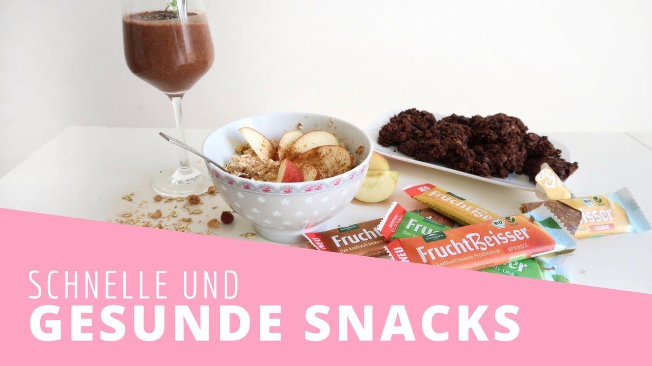 Außergewöhnlich Leckere & Gesunde Snacks für zwischendurch   Healthy Lifestyle &JY_99