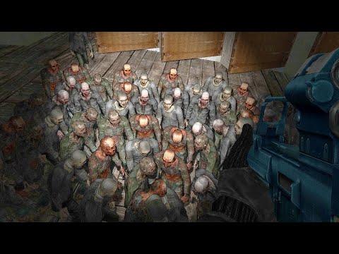 Огромная орда зомби. STALKER Зона Поражения 2: Ответный удар #1