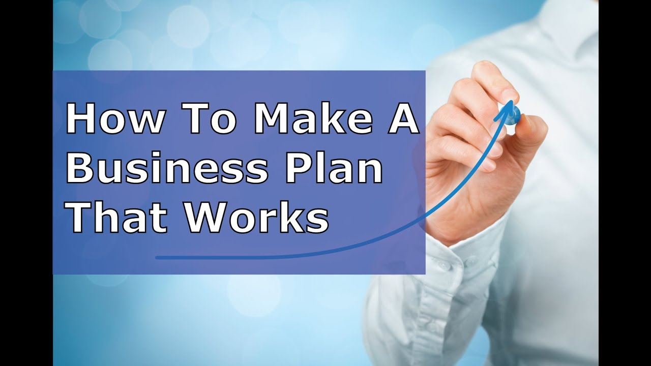 how to outline a business plan