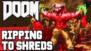 RIPPED TO SHREDS!! DOOM 4 Multiplayer Gameplay #4 (Doom 2016 PS4/XB1/PC 1080p 60fps HD)