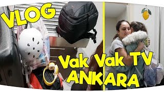 Rafadan Tayfa ve VakVakTV ile Bulumak iin Ankara39ya Geldik Fenomen Tv VLOG