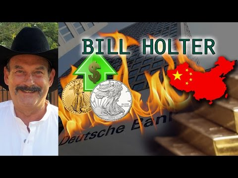 World Markets Can Crash in 24 Hours when Derivatives Implode - Bill Holter Interview