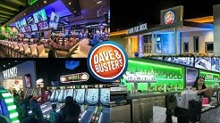 Dave & Busters Tampa Florida. BRAND NEW LOCATION. Tour & Review