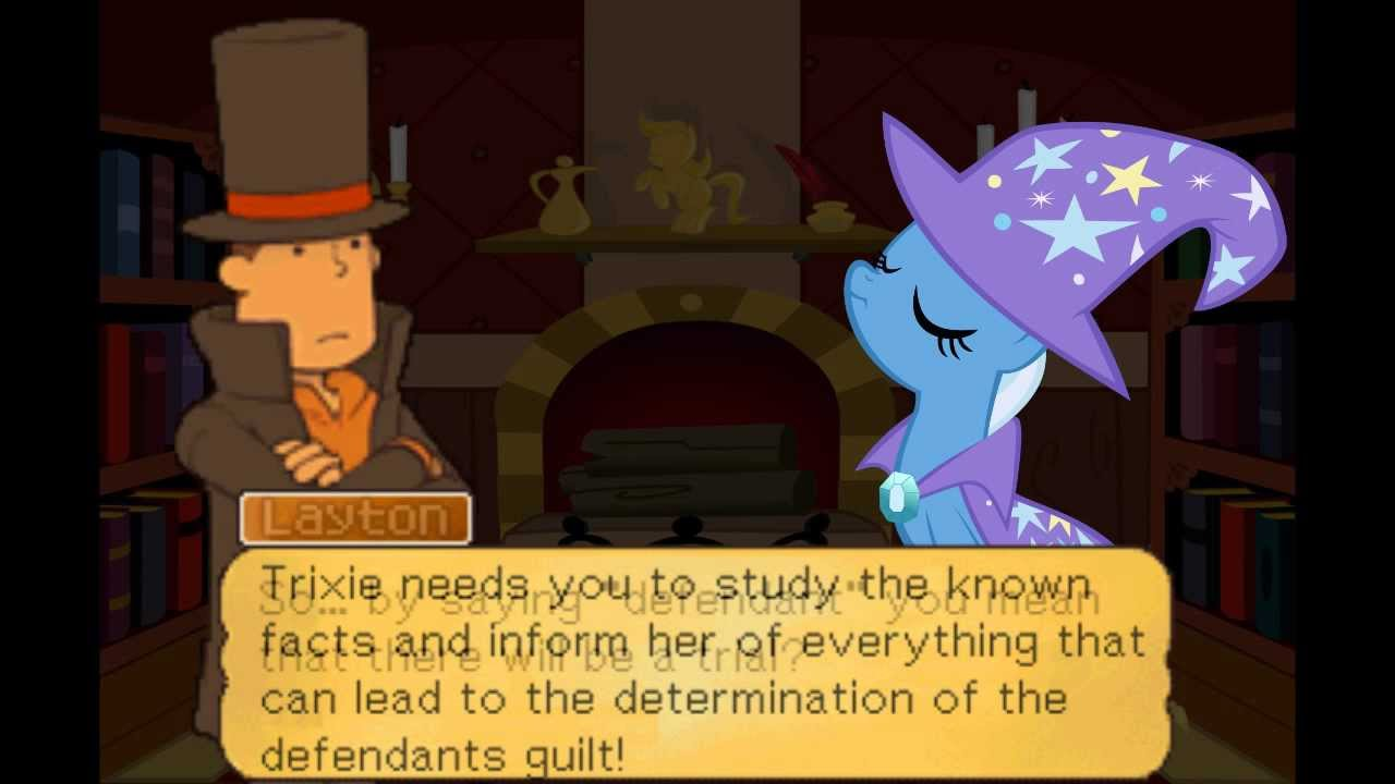 Turnabout Storm: The Other Side [Professor Layton | Miles Edgeworth | MLP:FiM] Ep.1 - Prologue