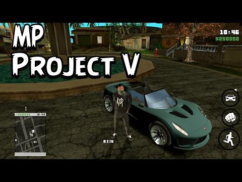 GTA Sanandreas Android : ModPack Project V 2K17