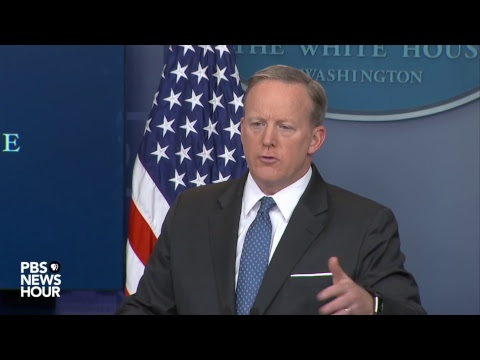 Watch Sean Spicer give the daily White House briefing