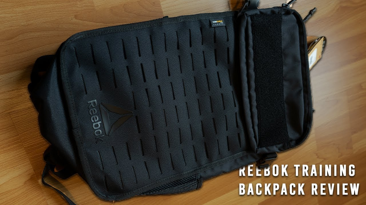 fc32bed988 Reebok Training Backpack Review | Best Gym Bag Of 2019