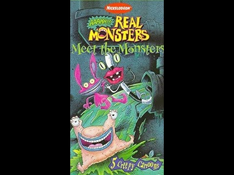 Opening To Aaahh!!! Real Monsters: Meet The Monsters 1997 VHS [HQ]