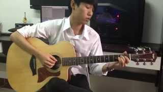 (Tattoo Colour) รักแรกพบ - Fingerstyle Guitar Cover by ต้นปาล์ม