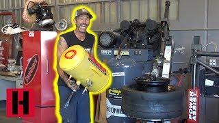 Big Tire Energy! Brad Mounts Massive Slicks For Build & Battle