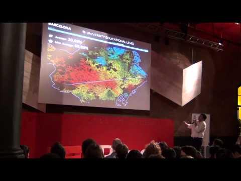 Creating maps of Barcelona using big data | Luis Falcón | TEDxBarcelonaSalon