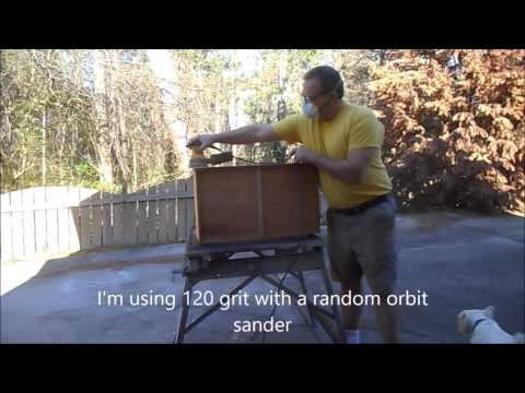 Restoring a Rock Maple Chest of Drawers