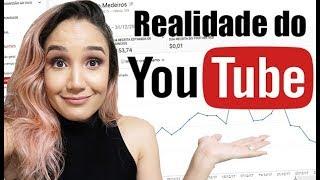 Quanto GANHA um Youtuber com 100mil Inscritos? (Novas métricas COM VALORES)