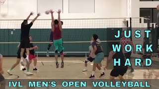 JUST WORK HARD - Tall Ones IVL Volleyball Highlights