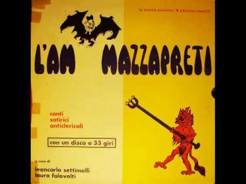 PASSA LA BANDA DEI CLERICALI. Storica satira anticlericale