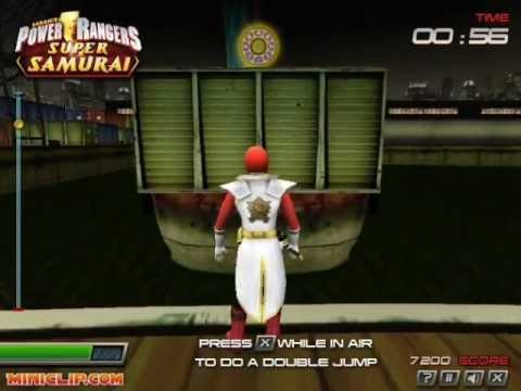 power rangers super samurai 3d game download
