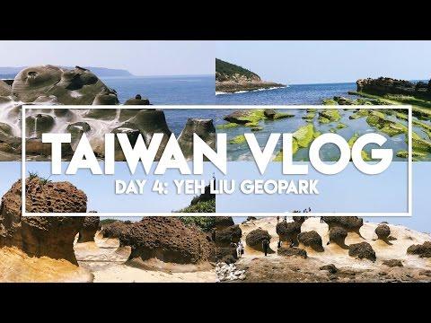 TAIWAN VLOG: Day 4 (Part 1) | Yeh Liu Geopark