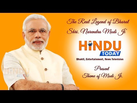 Hindu Today Present's The Legend of Modi Ji Theme