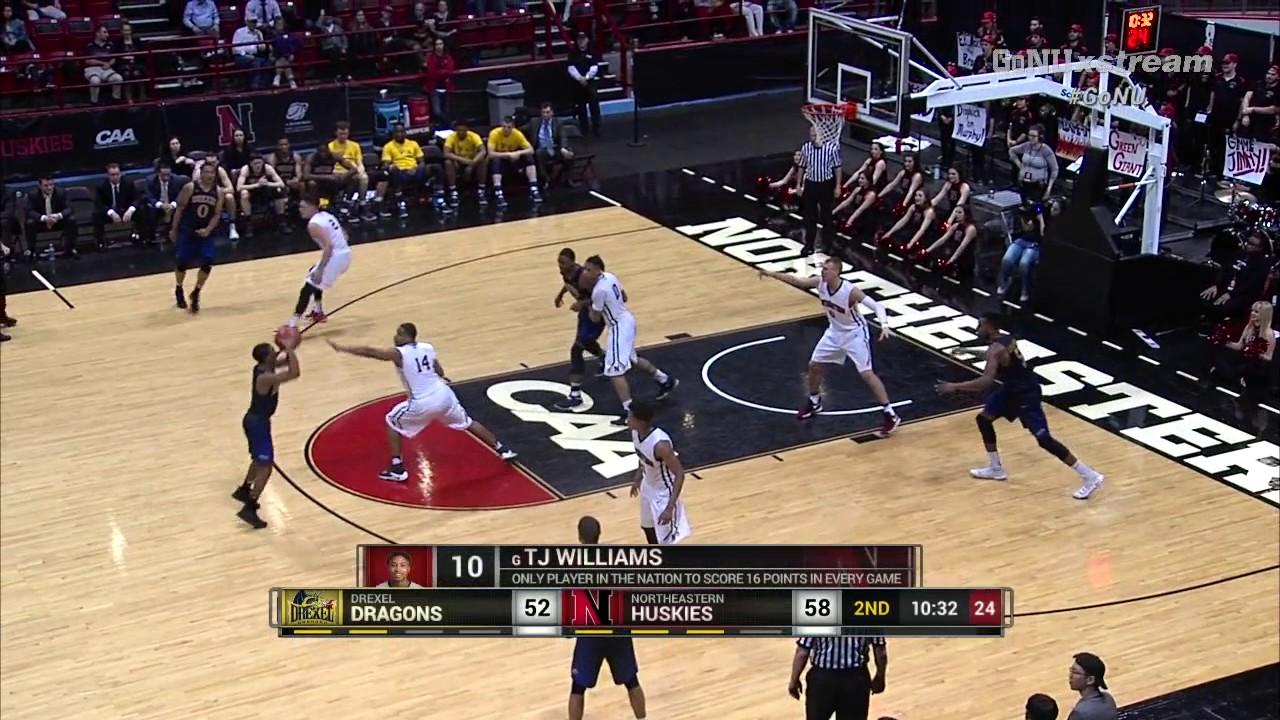 Northeastern Men's Basketball vs. Drexel   Game Recap ...