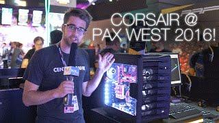 pax west 2016 corsair air 740 crystal 460x led mousepad more see description
