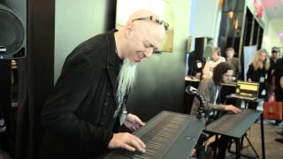 Jordan Rudess performs a blistering sax solo on the Seaboard GRAND at NAMM 2015