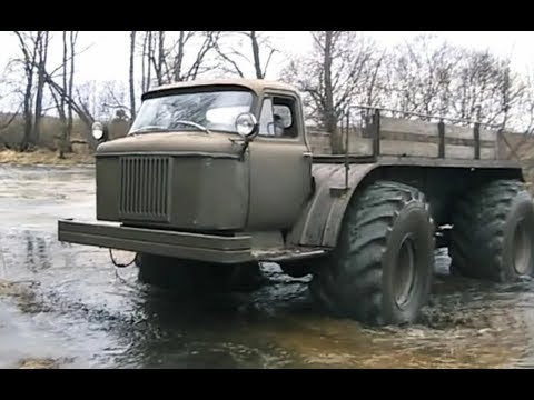 Мужик собрал СУПЕР ВЕЗДЕХОД на базе ГАЗ 66 с двигателем от трактора Т 40