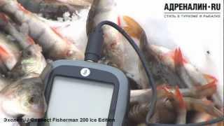 Эхолоты JJ-Connect Fisherman 220 Ice Edition и 200 Ice Edition
