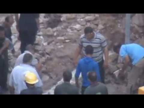 Seven-story building collapses in Egyptian city of Alexandria