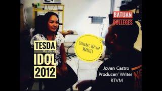 batuan colleges instructor hailed as tesda idol 2012 batuan bohol