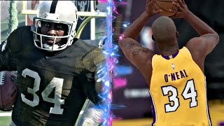Can Bo Jackson Get A 99 Yard Touchdown Before Shaquille ONeal Can Hit A Three Pointer? thumbnail