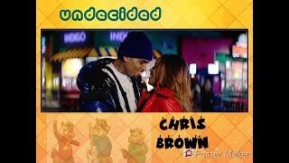 Undecided - Chris Brown(Chipmunks Version)