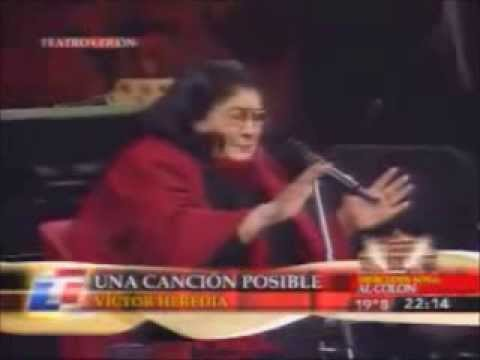 "Mercedes Sosa "" Concierto Teatro Colón"" (2006) completo full concert"