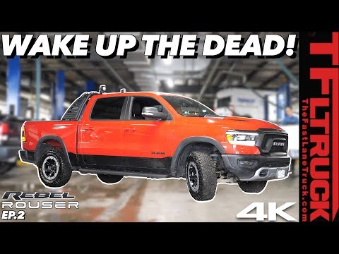 You Won't Believe How Great The Mopar Modified Ram Rebel V8 Sounds! | Ram Rebel Rouser Ep.2