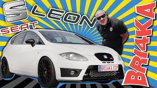 Seat Leon 1P| IIGen | Cupra | Test and Review| Bri4ka.com