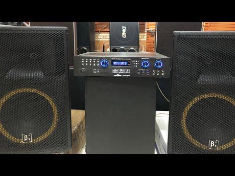 Dàn karaoke 11tr. Loa B3, đẩy liền vang Pro One I, hát quá hay, chống hú tốt  0916.957.808
