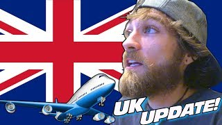 FLYING TO MANCHESTER in 6 HOURS!!! Quick Update w/ EXO's Vibe Audio UK Trip