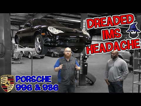 Dreaded Porsche 996 & 986 IMS headache! The CAR WIZARD shows what to look for & the extensive repair