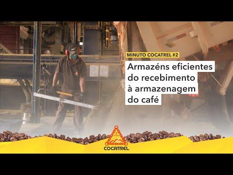 Armazéns eficientes do recebimento à armazenagem do café