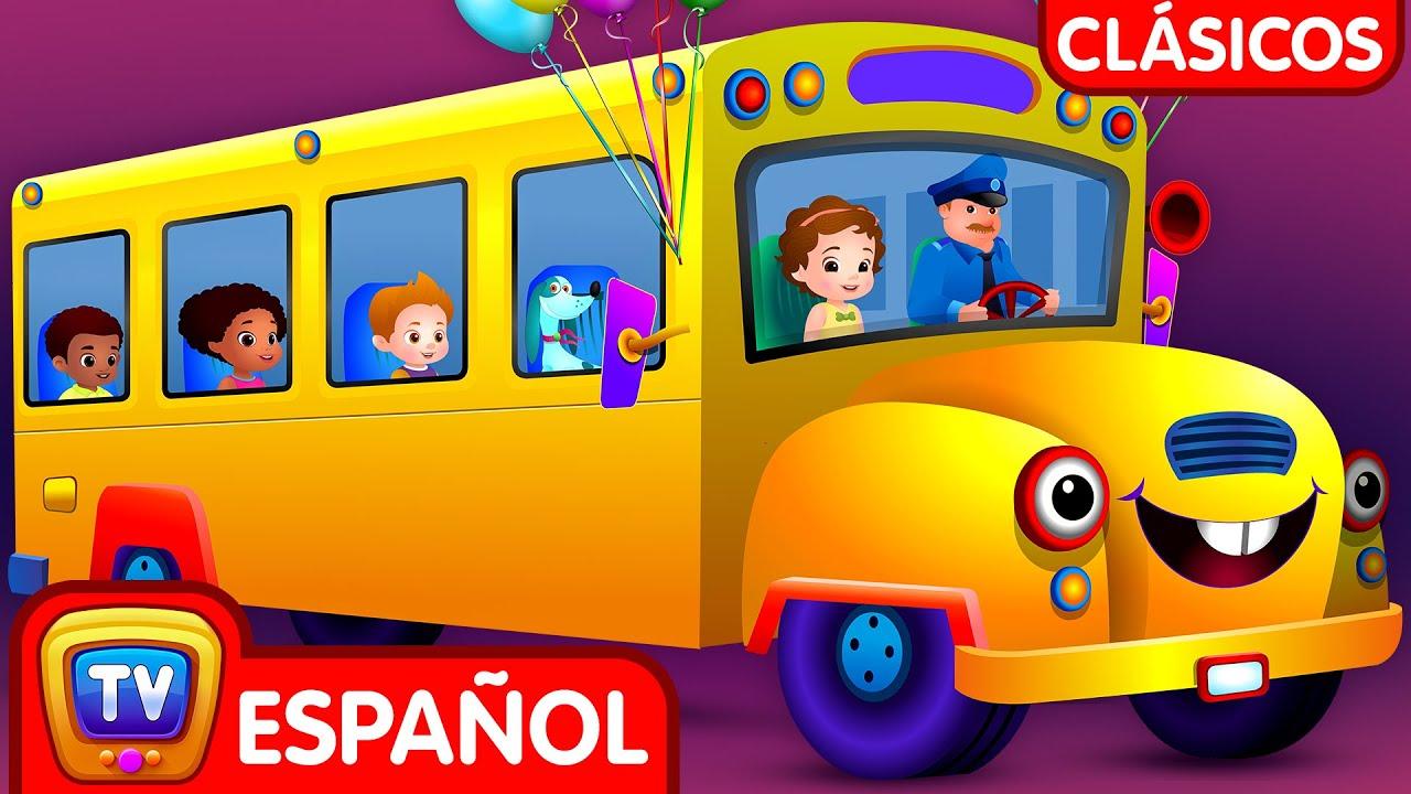 Las Ruedas del Autobús - Parte 2 (Wheels on the Bus) | Canciones para niños | ChuChu TV Clásicos