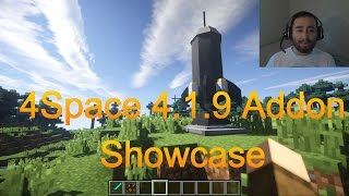 Minecraft Galacticraft Showcase WITH EPIC SPACESHIPS!