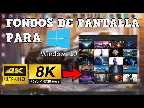 Descargar Fondos De Pantalla Para WINDOWS 10 (EN 4K) 2020
